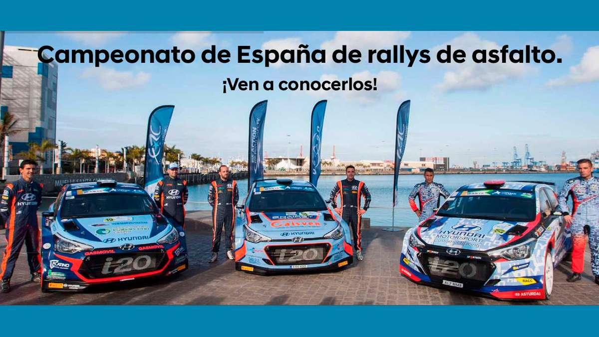 Finisterre Motor - Presentación de los tres equipos Hyundai